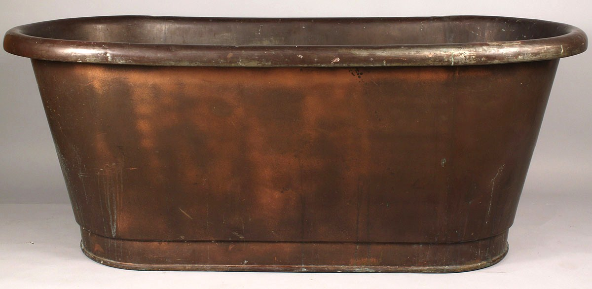 bathroom paxton tub slipper pedestal on hammered bathtub copper plinth
