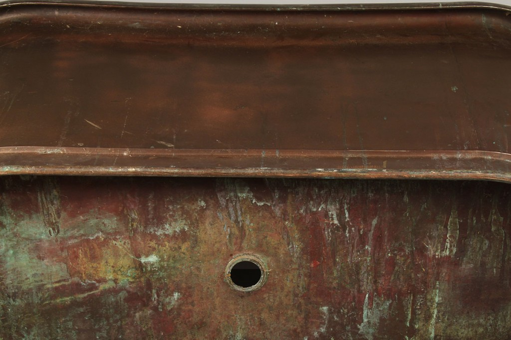 Lot 701: Copper Bathtub