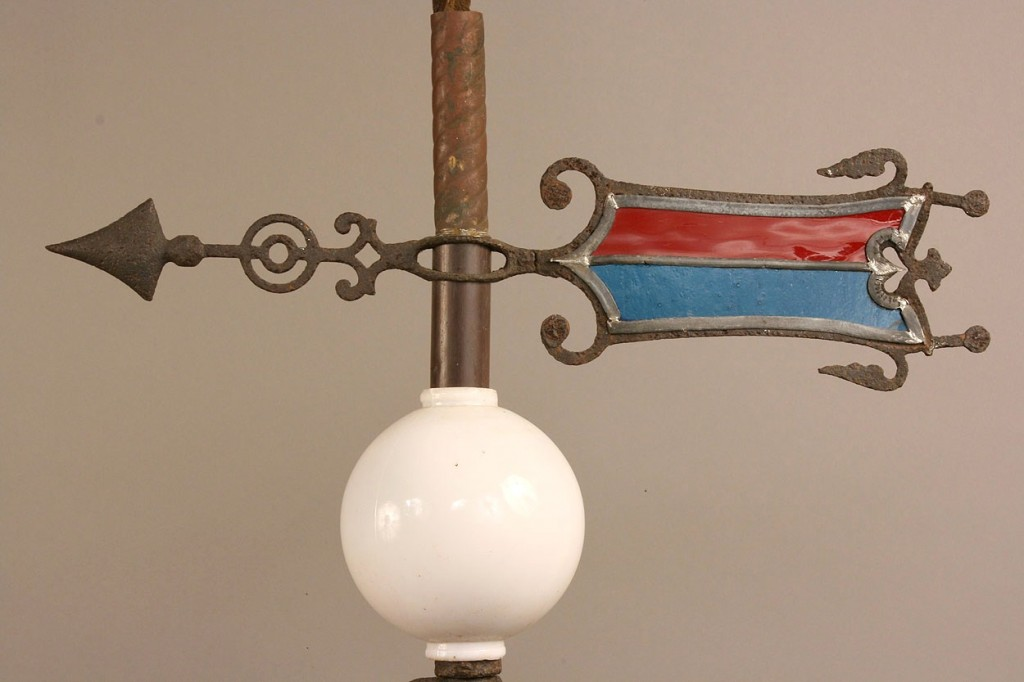 Lot 704: Iron and Copper Lightning Rod