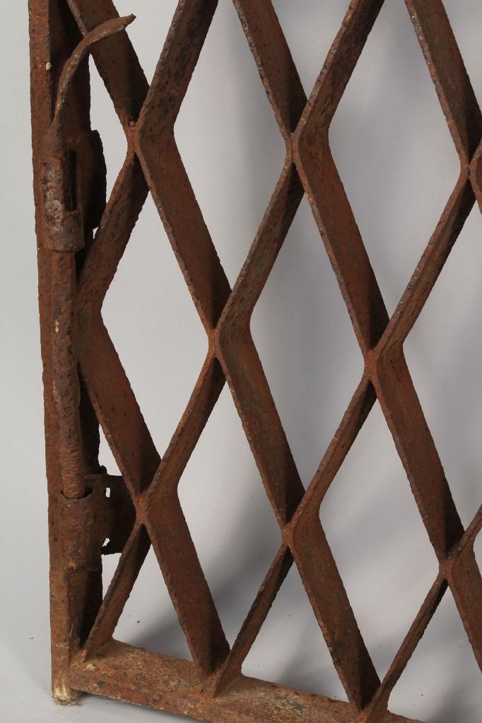 Lot 705: Pair of Wrought Iron Gates