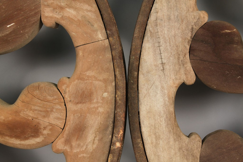 Lot 706: Pair of Chariot Wheels