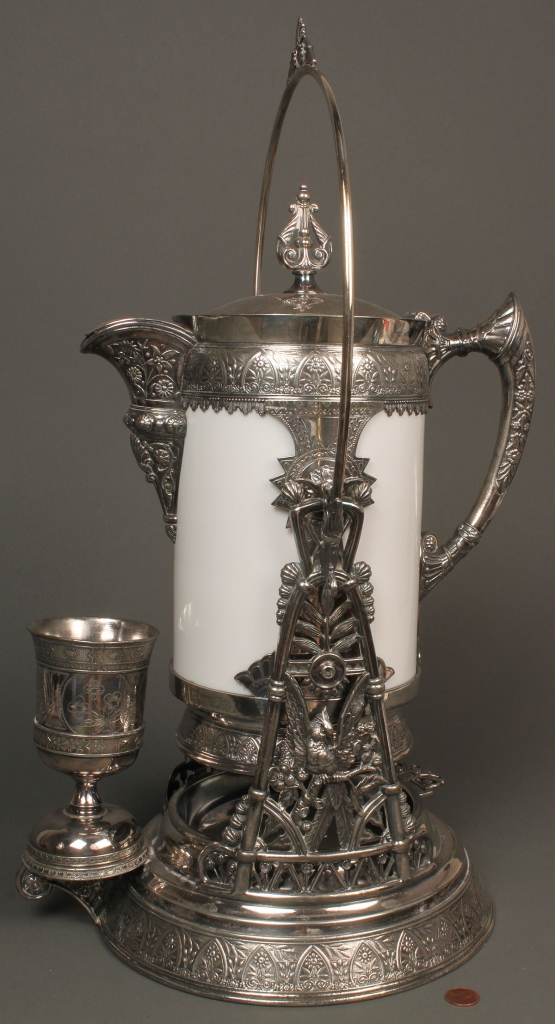 Lot 725: Simpson, Hall, Miller & Co. Water Server