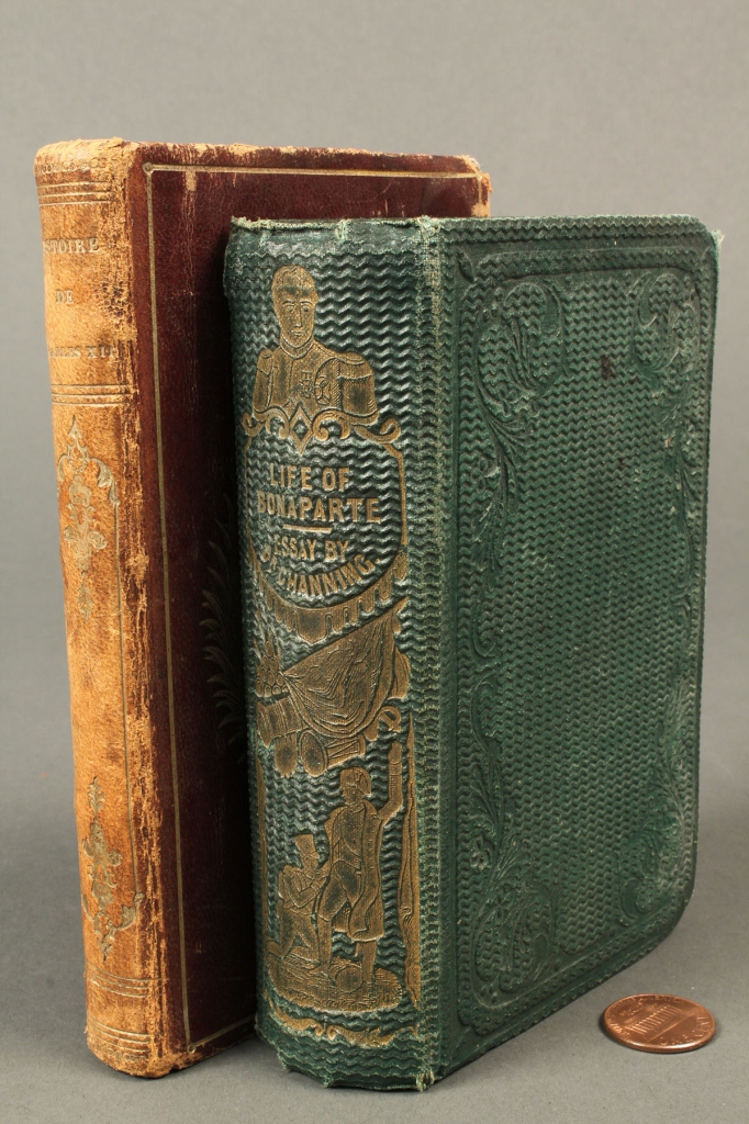 Lot 727: Lot of 3 French Related Books, 2 Napoleon