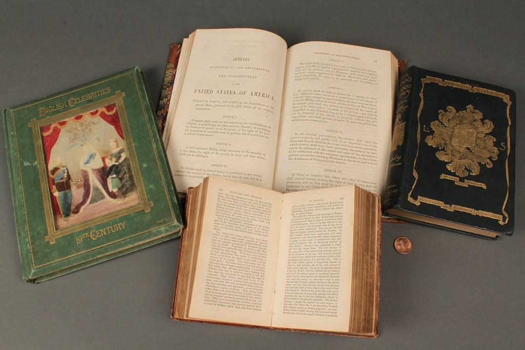 Lot 729: 4 History books, 2 American & 2 English