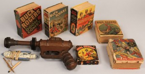 Lot 734: Lot of 8 Buck Rogers Related Toys