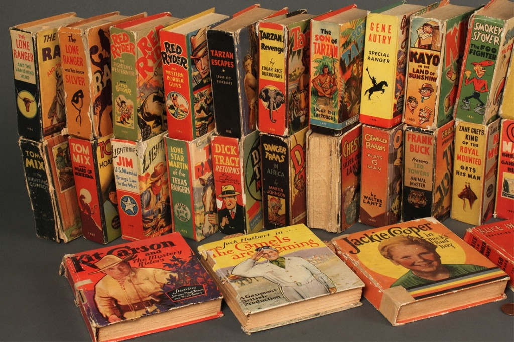 "Lot 735: Collection of 49 ""Big Little"" Books, assorted titl"