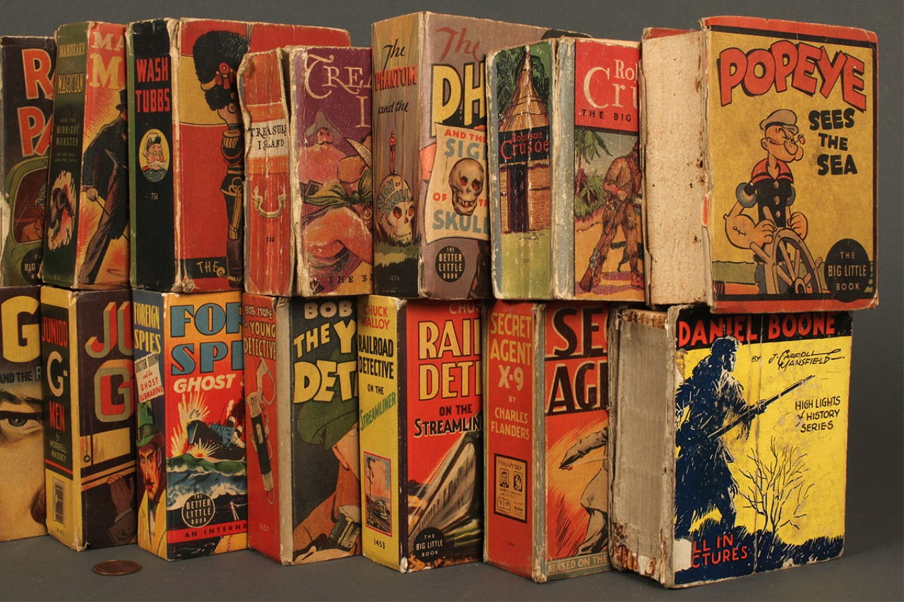 Lot 735 Collection Of 49 Quot Big Little Quot Books Assorted Titl