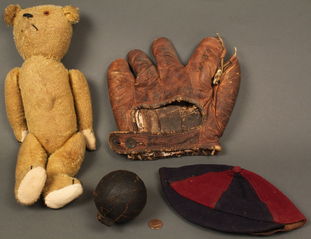 Lot 739: Grouping of 4 Vintage Toys