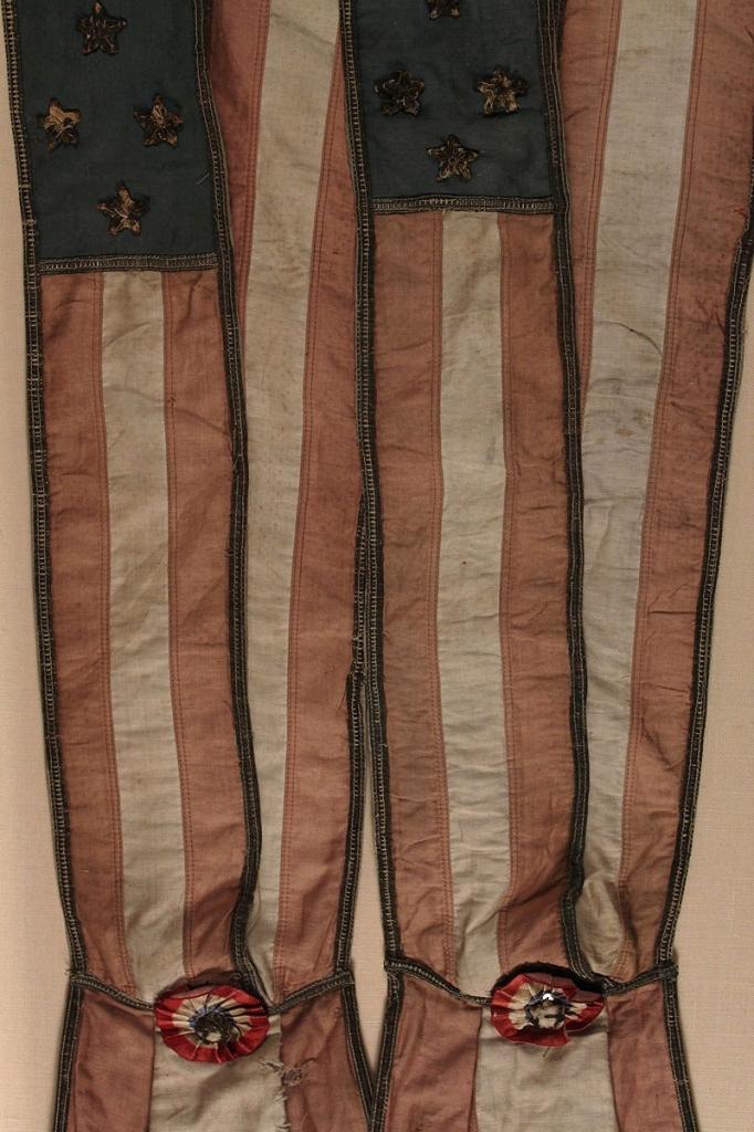 Lot 76: Pair of Patriotic Sashes or Baldrics