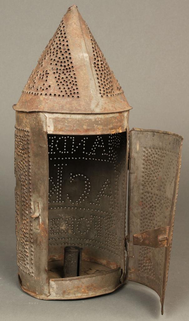 Lot 84: Andrew Jackson parade lantern