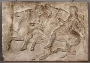 Lot 94: Plaster panel, Parthenon frieze