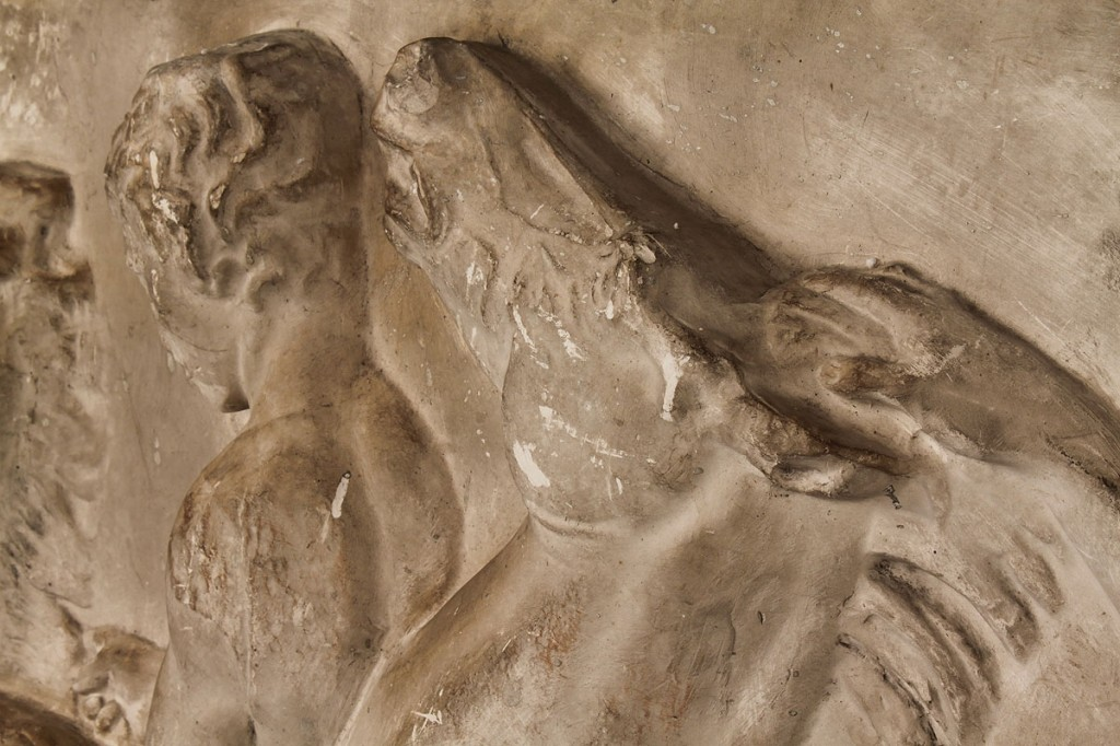 Lot 94: Plaster panel, Parthenon frieze