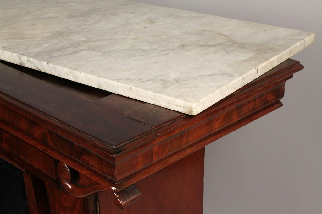 Lot 99: Classical Mixing Table, attrib. Quervelle