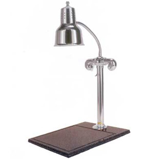 chromeplated single heat lamp carving station buy. Black Bedroom Furniture Sets. Home Design Ideas