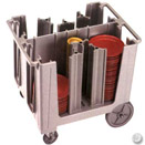 ADJUSTABLE DISH CADDY, 6 DIVIDERS, POLYETHYLENE