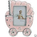PINK BABY CARRIAGE FRAME, 2