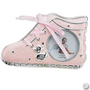 PINK BABY SHOE FRAME, 2.5