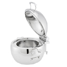 IDOL™ INDUCTION SOUP CHAFER, HINGED LID, STAINLESS