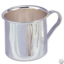 PUNCH / BABY CUP, SILVERPLATE, 2 3/4