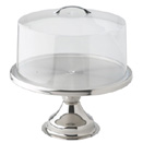 CAKE STAND, STAINLESS