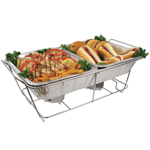 Disposable Foil Pans Amp Lids Full Size Wire Stand Buy
