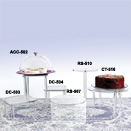 CAKE STAND COVERS, ACRYLIC