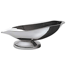BUFFET SPOON REST, BRUSHED FINISH, STAINLESS STEEL