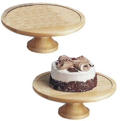 Wood Display Cake Stand And Cover Buy Wood Display Cake