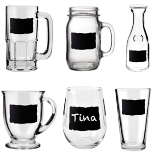 CHALKBOARD GLASS COLLECTION