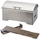 RECTANGULAR CHAFERS, COLLAPSIBLE