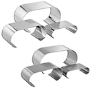 DISPLAY RISERS, 3 PIECE SET, STAINLESS
