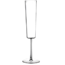 CHAMPAGNE FLUTE, 7 OZ., CLEAR DISPOSABLE PLASTIC, PKG/72