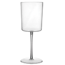 WINE GLASS, 11 OZ.,  CLEAR DISPOSABLE PLASTIC, PKG/72