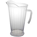 PITCHER, DISPOSABLE PLASTIC, PKG/6