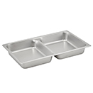 FOOD PAN, DIVIDED STYLE, 18/8 STAINLESS