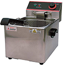 COUNTERTOP SINGLE WELL DEEP FRYER