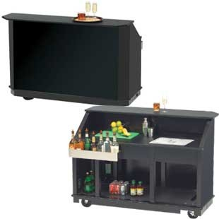 Indoor Outdoor Portable Bar Black Buy Indoor Outdoor