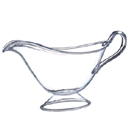 GRAVY BOAT, 16.9 OZ., CLEAR DISPOSABLE PLASTIC, PKG/ 12