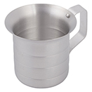 MEASURING CUP, ALUMINUM - MEASURING CUP 1 QT.