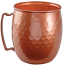 MOSCOW MULE MUG, 16 OZ.,  COPPER DISPOSABLE PLASTIC, PKG/48