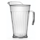 PITCHER, DISPOSABLE PLASTIC, PKG/12