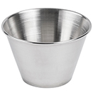 SAUCE CUP, ROUND, STAINLESS