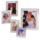 PLAIN SILVERPLATE PICTURE FRAMES