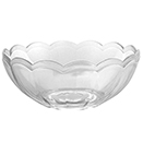 BOWL, CLEAR,  DISPOSABLE PLASTIC, PKG/4 DOZEN