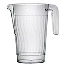PITCHER, DISPOSABLE PLASTIC, PKG/50