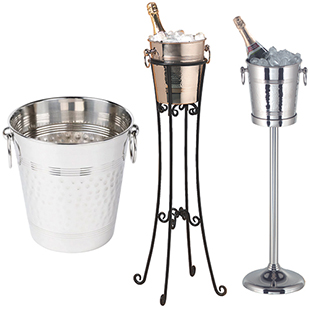 Wine Bucket And Stands