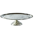 CAKE STAND, SILVERPLATE