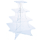DISPLAY STANDS, 5 TIER, SQUARE, ACRYLIC
