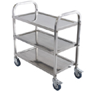 UTILITY CART, STAINLESS STEEL