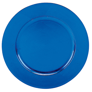 Blue Charger Plate 13 Quot Round Acrylic Buy Blue Charger
